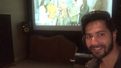 Photo of Varun Dhawan announces dubbing wrap up of 'Coolie No 1'