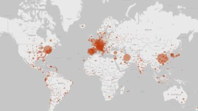 Photo of Coronavirus crosses 600000 cases globally