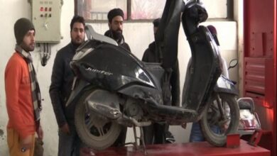 Photo of Kashmiri youth gets training in automobile sector