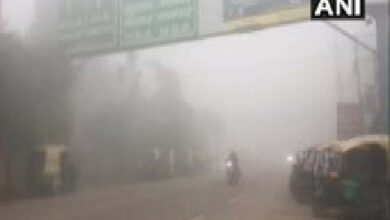 Photo of Thick fog envelopes Ghaziabad
