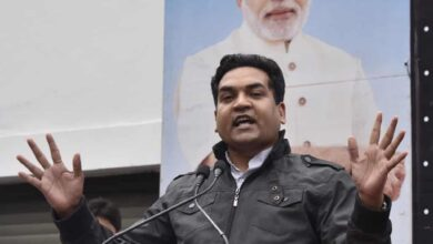 Photo of Mishra accused of inciting Delhi riots wants Khalid to be hanged