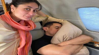 Photo of Not Aamir Khan but his pillow is Kareena's fav co-star