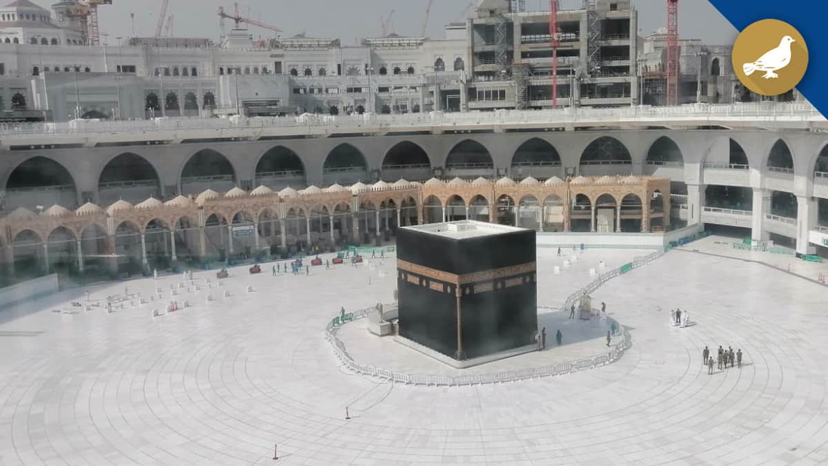 Courtyard of the Great Mosque of Makkah closed on Thursday