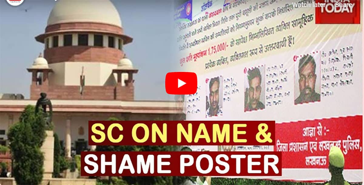 Name and shame posters