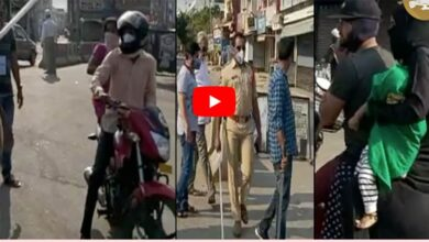 Photo of Hyderabad residents complain against cops