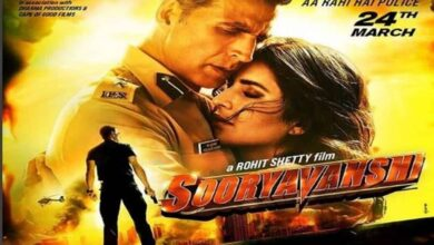 Photo of Katrina Kaif shares new poster of 'Sooryavanshi'