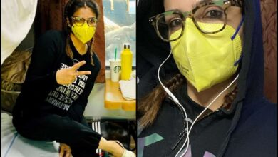 Photo of Raveena cleans train cabin: Better to be safe than sorry