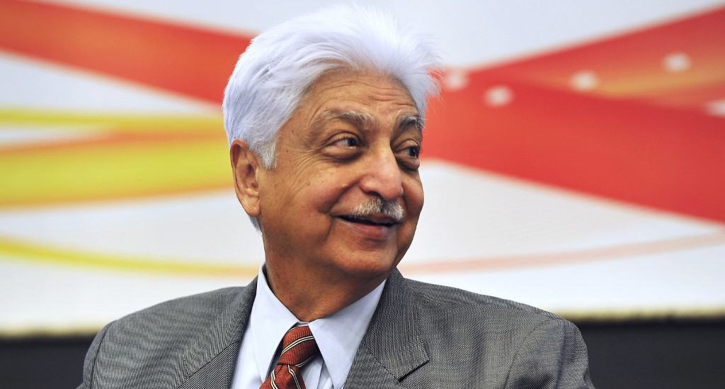 Chairman of Wipro, Azim Premji,
