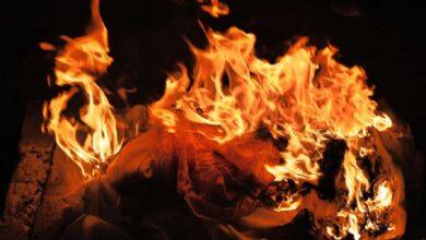 Photo of Muslim man denied burial, cremated in Mumbai