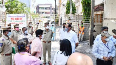 Photo of Central team inspects COVID-19 centres in Hyderabad