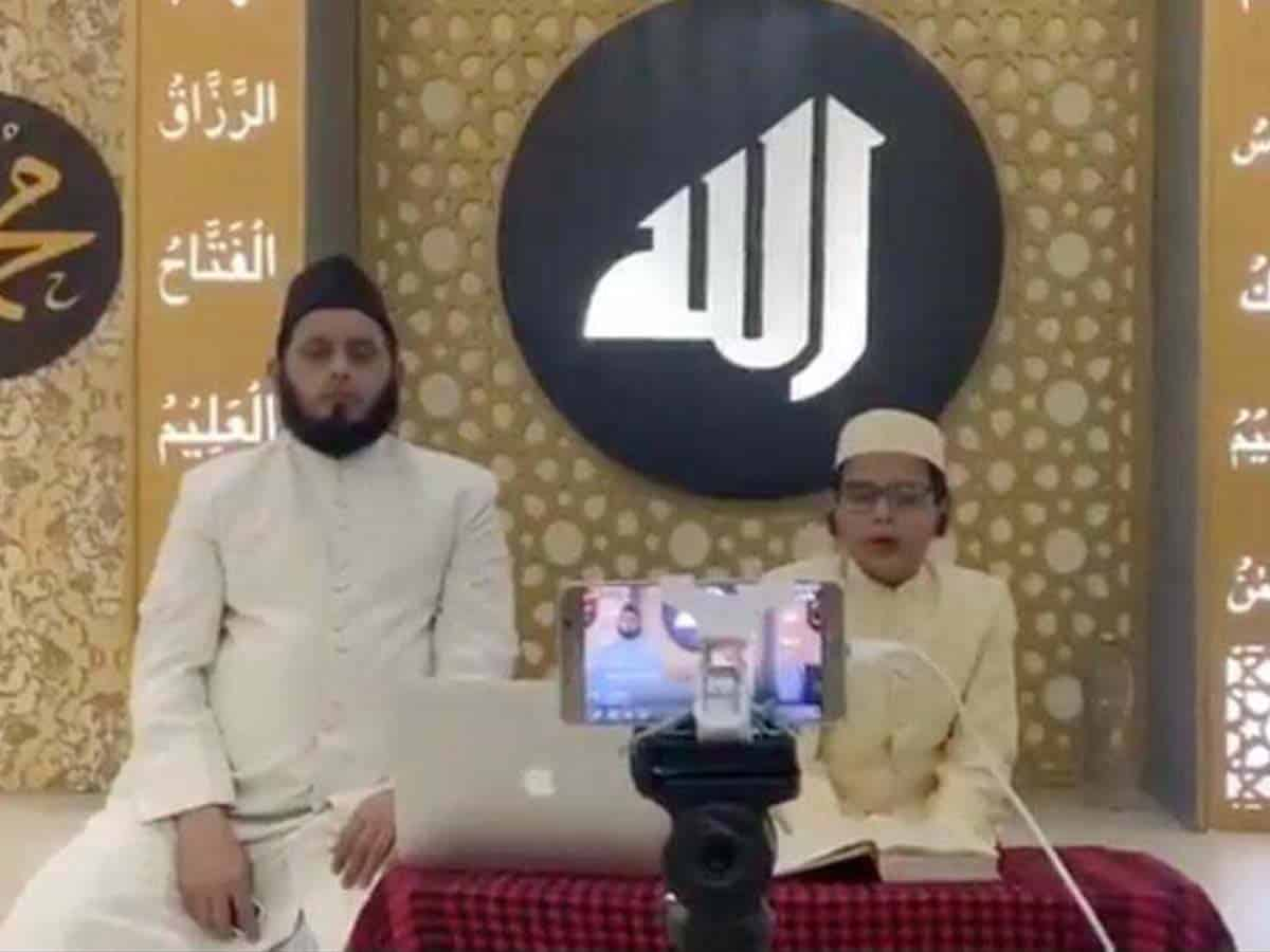 12-year-old recites Quran on social media, wins accolades