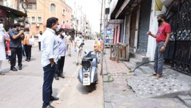 Photo of KTR inspects containment zones in Hyderabad