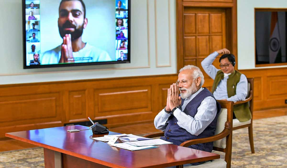 COVID 19: PM interacts with sportsperson