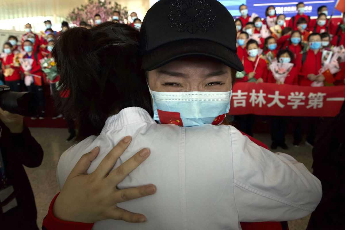 Photos: Lockdown in Wuhan