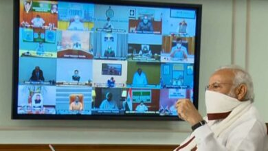Photo of COVID-19: PM Modi meeting with CMs via video conference
