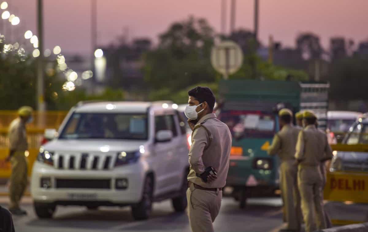 Photos: Lockdown in Delhi