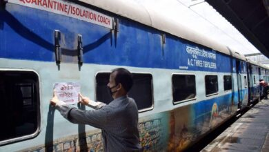 Photo of Rlys' isolation coaches to be deployed at 215 rly stations