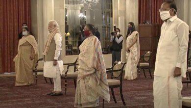 Photo of Photos: Sanjay Kothari oath taking ceremony