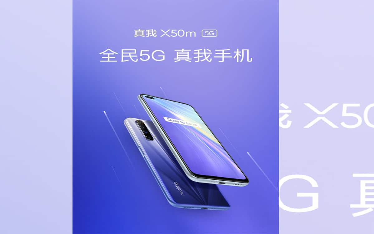 Realme X50m 5G with 120Hz display launched in China