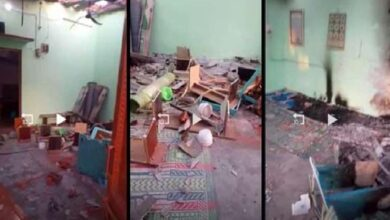 Photo of Delhi: Mosque allegedly attacked amid lockdown