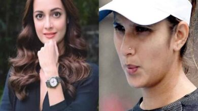 Photo of Dia Mirza reacts after Sania slams people for posting cooking videos