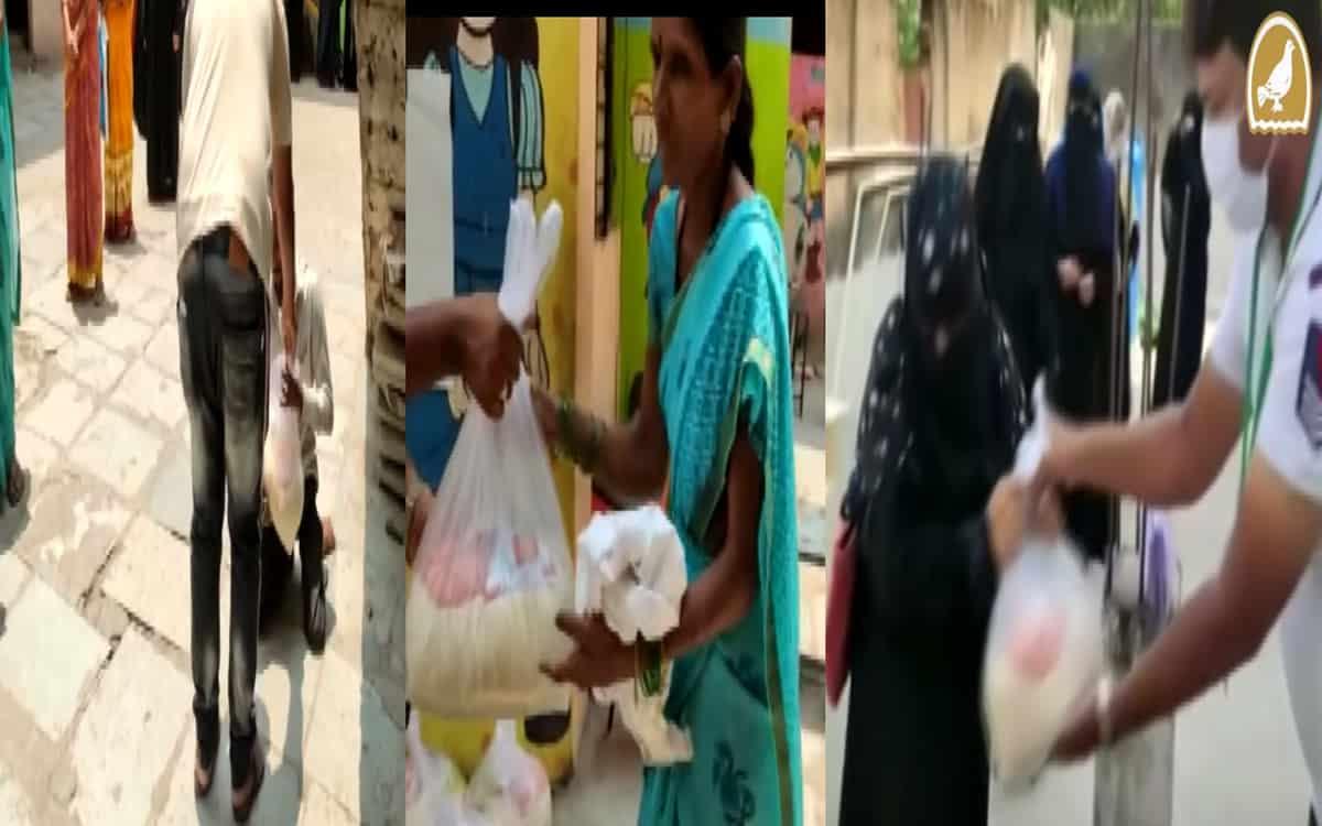 Faiz-e-aam-trust-distribute-ration-kits