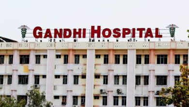 Gandhi Hospital limited to admissions only, no test