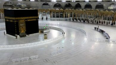 Photo of Islam's sacred sites are empty during Ramadan