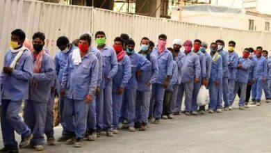 Photo of Sick, stranded and broke: Crisis hits Gulf's migrant workers
