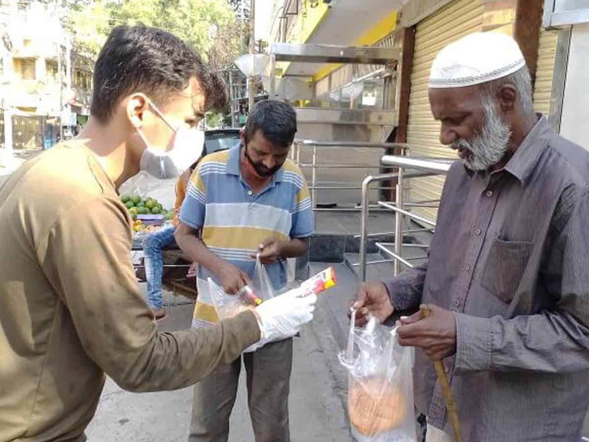 COVID-19: Millennial are reaching out to needy in Hyderabad