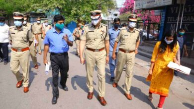 Photo of Joint Inspection takes place in Mallepally Containment Area