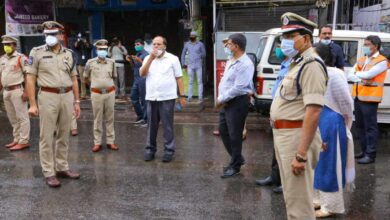 Photo of COVID-19: Chief Sec, DGP visit cluster spots in Hyderabad
