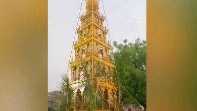 Photo of Defying lockdown, hundreds attend temple event in Kalaburagi