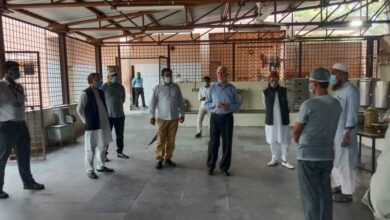 Photo of MANUU VC visits hostels to ensure safety from COVID-19