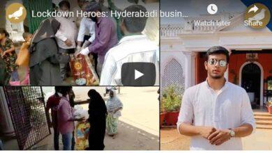Photo of Hyderabadi business man becomes a philanthropist