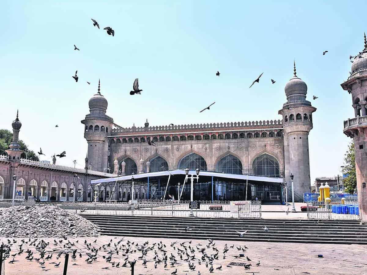 Eid namaz at Makkah Masjid