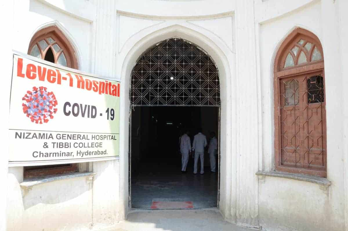 The Unani Hospital getting ready for new patients