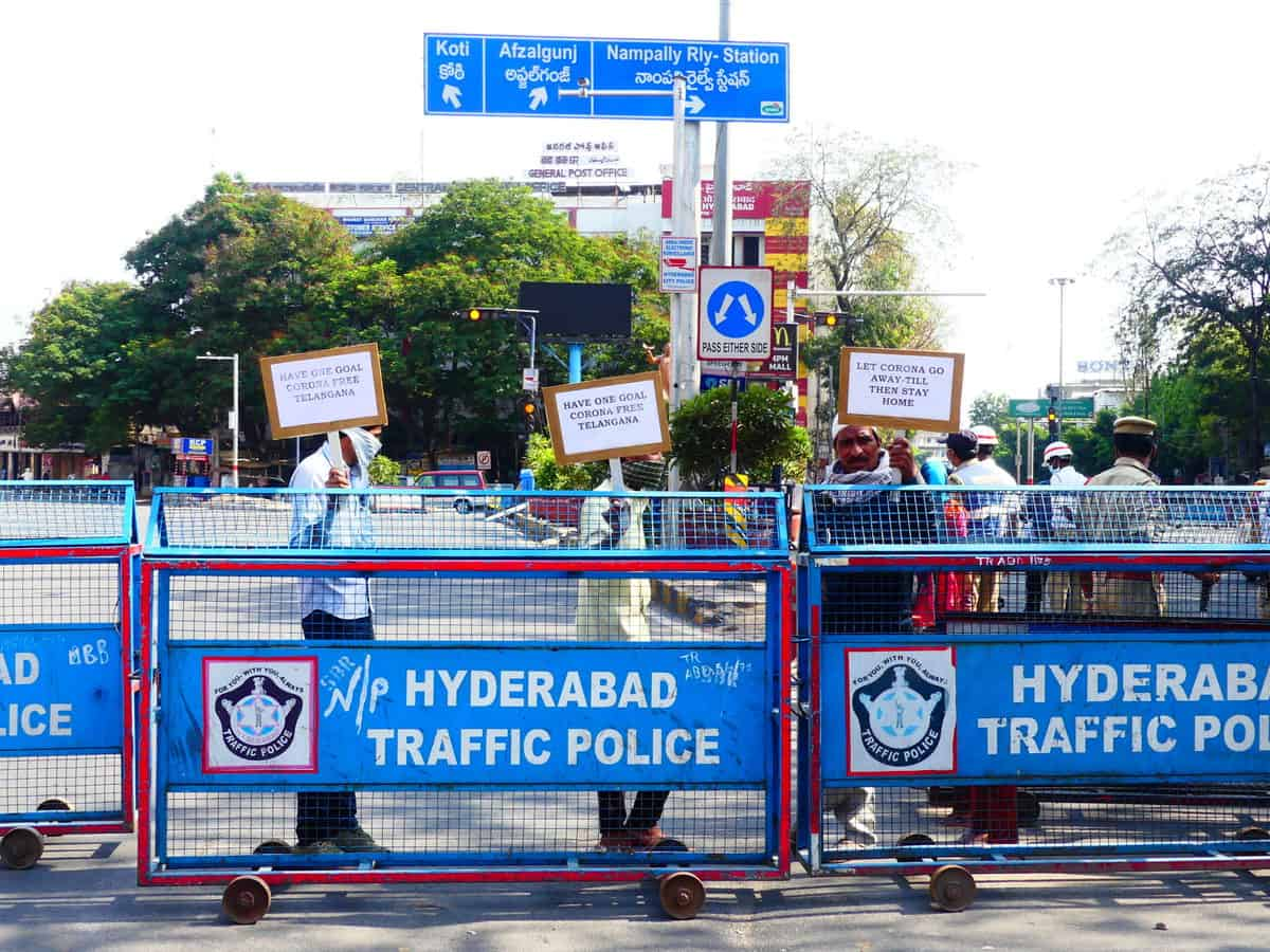 Hyderabad during COVID-19 lockdown