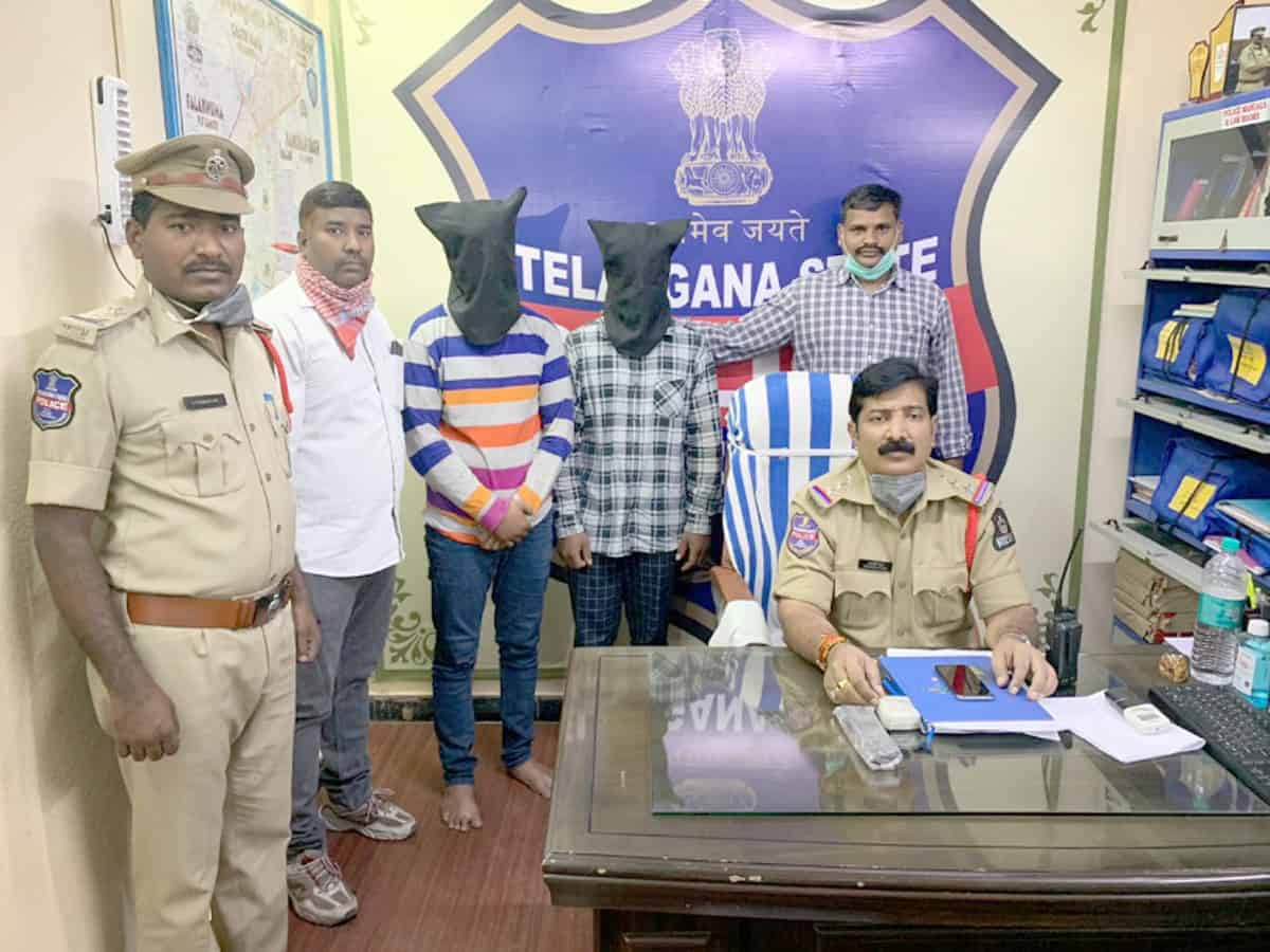 Hyderabad: Two youths arrested for attack on police constable