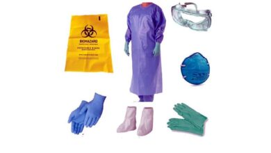 Photo of PPE kit found in garbage heap, triggers panic