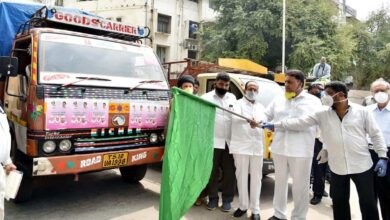 Photo of HM Mahmood Ali flags off food distribution drive for poor