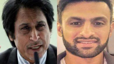 Photo of Ramiz Raja, Shoaib Malik engage in war of words