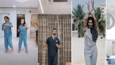 Photo of 60 doctors dancing to 'Happy' to raise mental health awareness