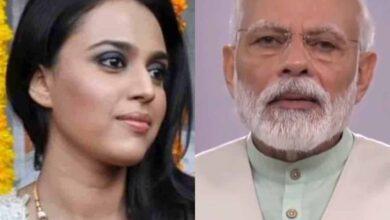 Photo of Swara Bhasker reacts to PM Modi's 'light' call