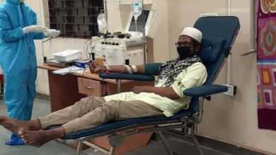 Photo of Thirty people turn up to donate plasma in Delhi