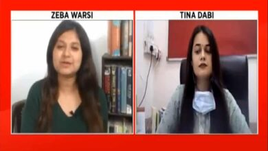 Photo of Tina Dabi speaks on 'Bhilwara model' for COVID-19 containment