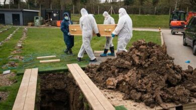 Photo of UK's youngest victim Ismail buried without family
