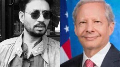 Photo of US Ambassador to India condoles demise of Irrfan Khan