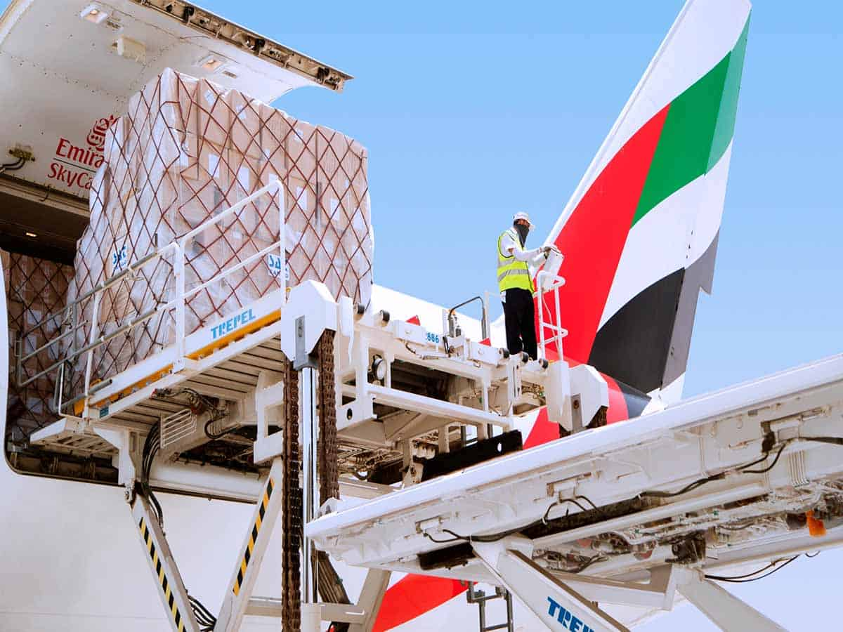 Emirates SkyCargo scales up network for transport of essentials