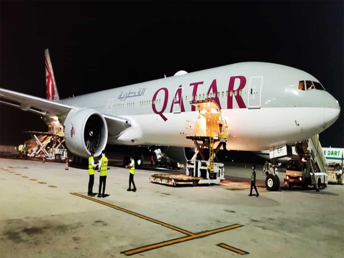 Hyderabad Air Cargo handles shipment of essential supplies